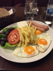 Free breakfast in Montenegro