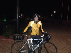 End of leg 1. London to Istanbul, the smile is genuine..