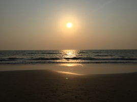 A beach in Goa..