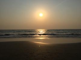 A beach in Goa..