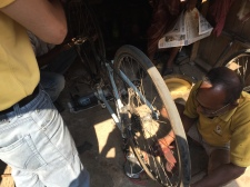 A 'bike service' in Kolkata