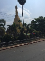 There are pagodas everywhere in Burma and I deliberately tried to avoid taking pictures of too many. Consequently, I probably didn't take enough.. but regardless, this is what they look like