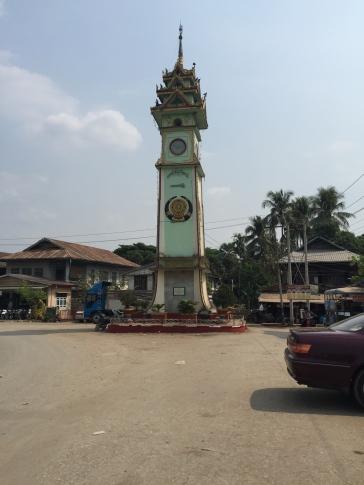 Hpa-An clocktower