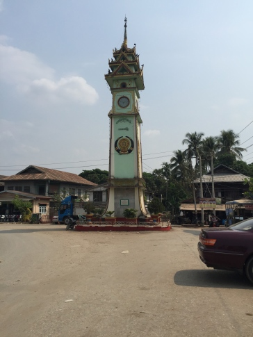 Hpa-An clocktower