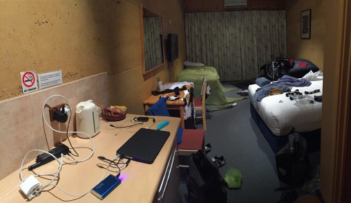 After my first night in a tent, this is the definition of an organised mess...
