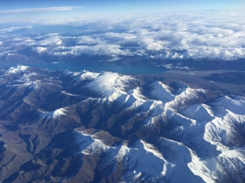 First sight of New Zealand