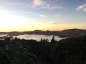 After climbing out of Dunedin..
