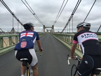 Crossing the Loire!